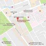 Kart Imperial hotell London