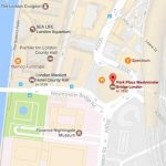 Kart Park Plaza Westminster Bridge hotell london
